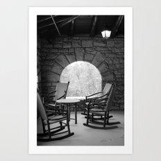 Black & White (2 of 7) Art Print