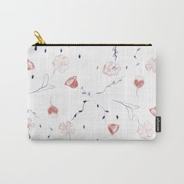 Floral Pattern #2 #drawing #decor #art #society6 Carry-All Pouch