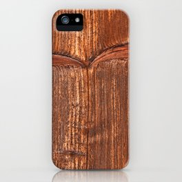 vertical structure of spruce board iPhone Case