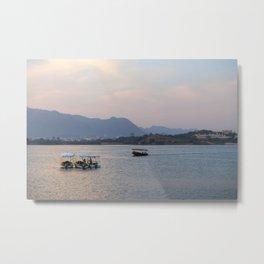 Lake Pichola in Udaipur, India (Rajasthan)  Metal Print