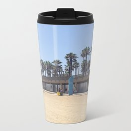 Barcelona Olympic Beach Metal Travel Mug
