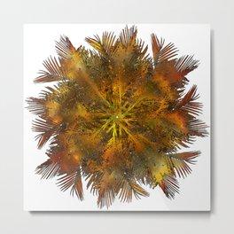 The Majesty Palm Swirl (No BG) Metal Print