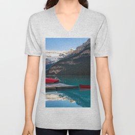 banff national park Unisex V-Neck
