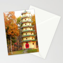 Jade Buddha Pagoda Stationery Cards