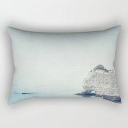 Falaise d'Amont - Côte d'Albatre Normandie France Rectangular Pillow
