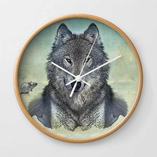 Scout and tiny Wall Clock