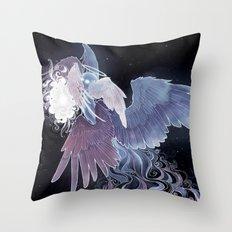 Angel + Soul Throw Pillow