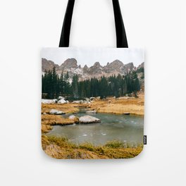 Gore Range – Rocky Mountains Tote Bag