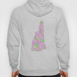 New Hampshire in Flowers Hoody