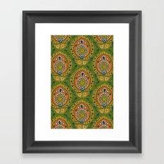 safa green Framed Art Print