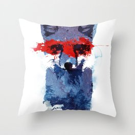 The last superhero Throw Pillow
