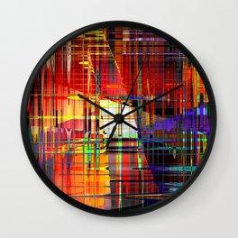 steel 3 Wall Clock
