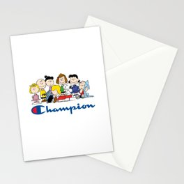 Snoopy and The Peanuts Gang Stationery Cards
