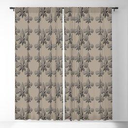 Fleur de lis 38 Blackout Curtain