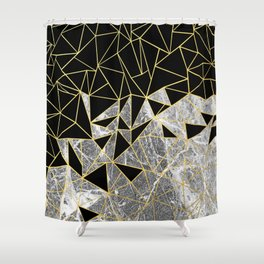Marble Ab Shower Curtain