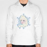 frozen elsa Hoodies featuring FROZEN, Elsa  by nathan wellman