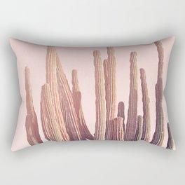 Blush Cactus Rectangular Pillow