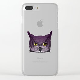 Knowledge of the Owl Clear iPhone Case