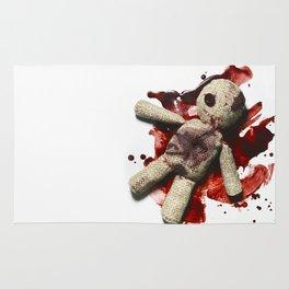 Bloody sack doll Rug
