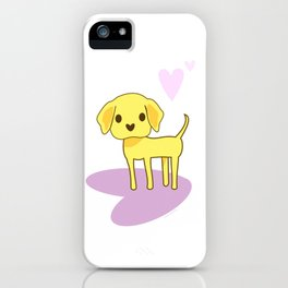 Lilah the Lab iPhone Case