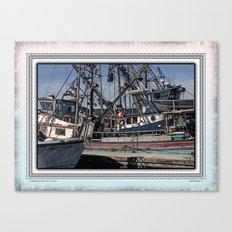FISHING BOATS VISE A VERSA Canvas Print