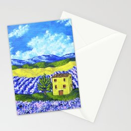 Lavender Farm Stationery Cards