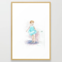 Alia Spinning Framed Art Print