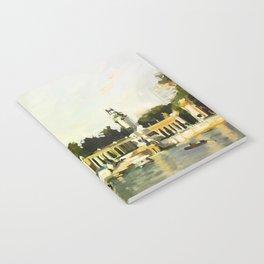 The Lake at Buen Retiro Park Notebook