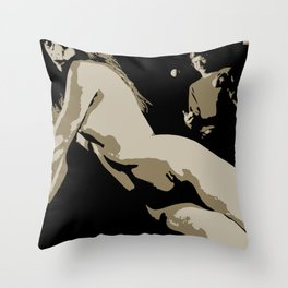 Juxtapose VII Throw Pillow