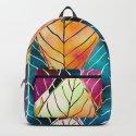 Colorful Leaves Pattern by klaraacel