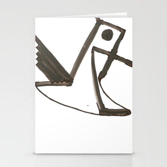 Had of the Eagle Stationery Cards