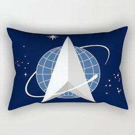 Space Force Officer Rectangular Pillow