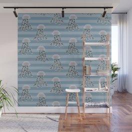 Jellyfish elegance Wall Mural