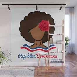 Dominican Afro Wall Mural