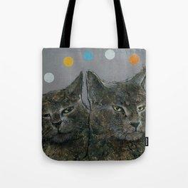 Grey Cats Tote Bag