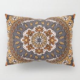 Fall Symmetrical Pattern Pillow Sham