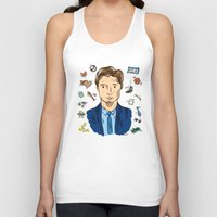 mulder Tank Tops featuring Fox Mulder  by sarah sawtelle