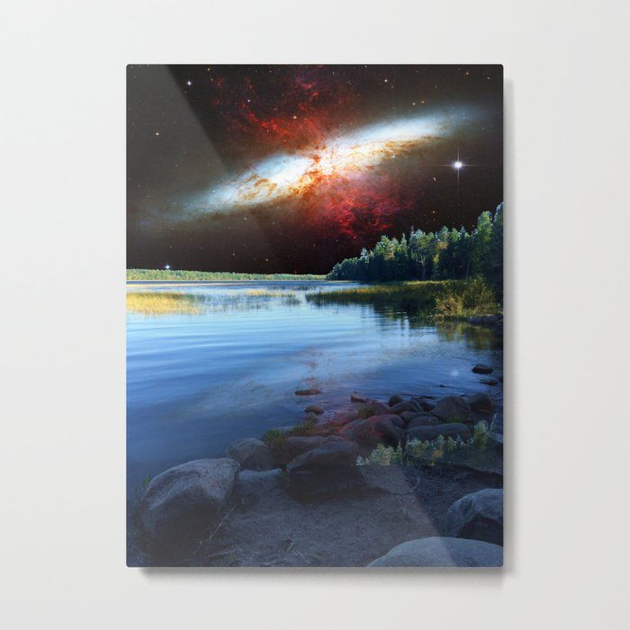 Galaxial Plume in the skies over Itasca State Park Metal Print