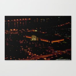 Chicago's Field Museum: A Bird's Eye View (Chicago Architecture Collection) Canvas Print