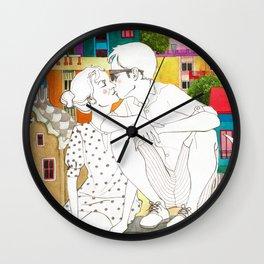 Barcelona Love Wall Clock