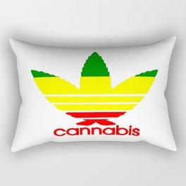 Cannabis Ganja Rectangular Pillow