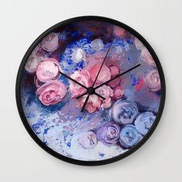 Falling Sky Wall Clock