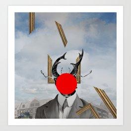 Der Atem der Stadt Art Print