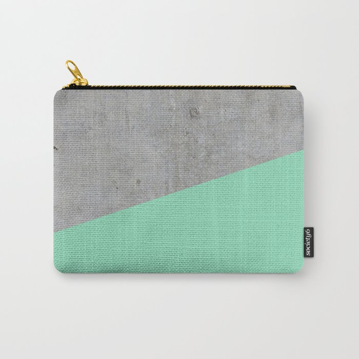 Concrete and sea Carry-All Pouch