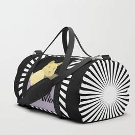 Pawspective Cat Art in Perspective Duffle Bag