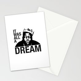 It Was All A Dream Stationery Cards