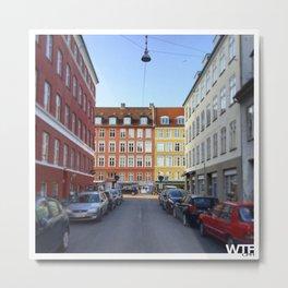 Colours of Vesterbro, Copenhagen Metal Print