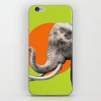 eric fan iPhone & iPod Skins featuring Wild 6 by Eric Fan & Garima Dhawan by Garima Dhawan