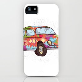 Hippi Car iPhone Case