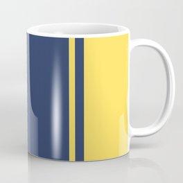 Yellow and Blue Pattern Coffee Mug